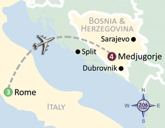 Rome & Medjugorje - 206 Tours - Catholic Tours