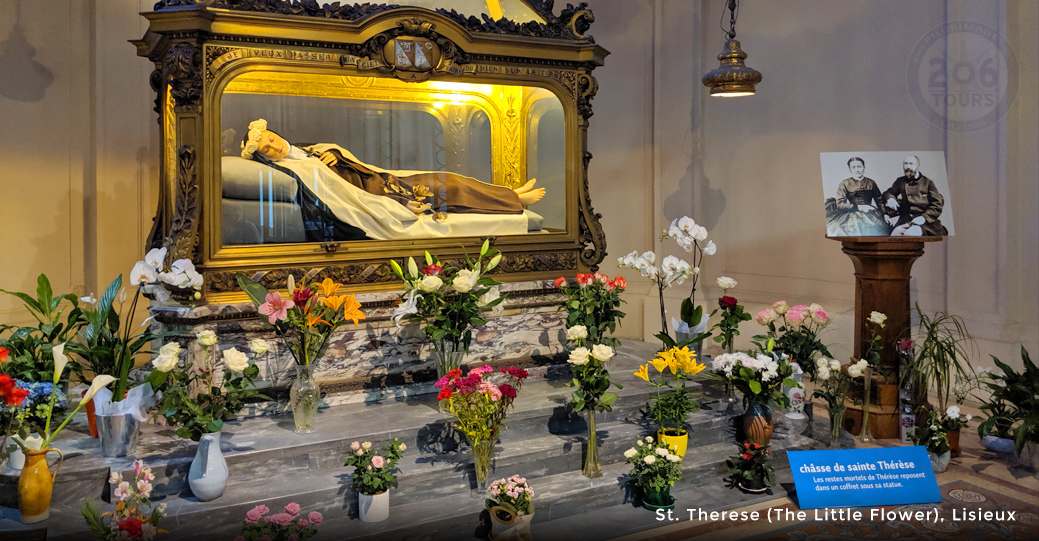 Great shrines of france 206 tours catholic tours for Garage mary lisieux
