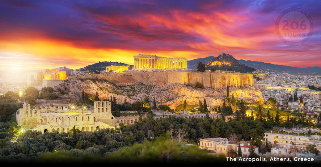 Greece in Footsteps of St  Paul with Greek Isle Cruise - 206 Tours