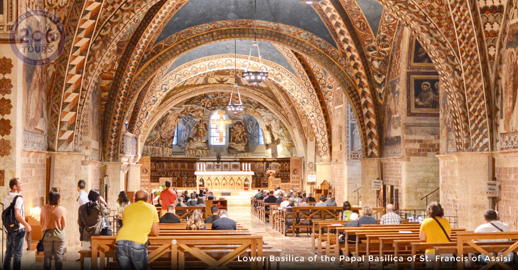 Jordan, The Holy Land & The Shrines of Italy - 206 Tours