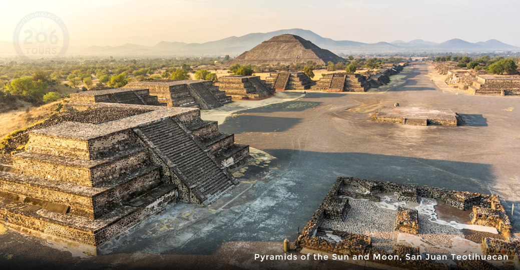 Pyramid of the Sun, San Juan Teotihuacan, Mexico