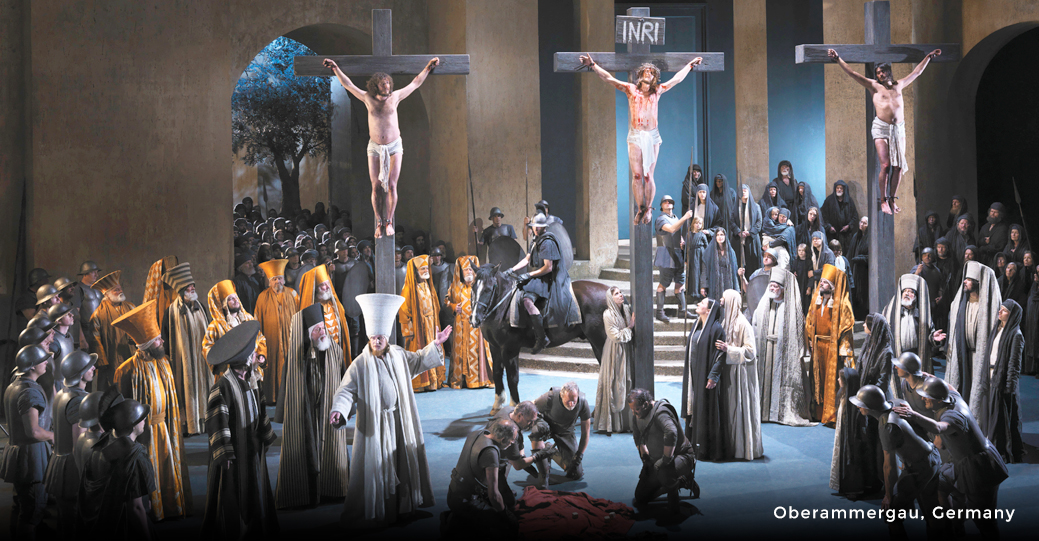 The Oberammergau Passion Play-  5 day