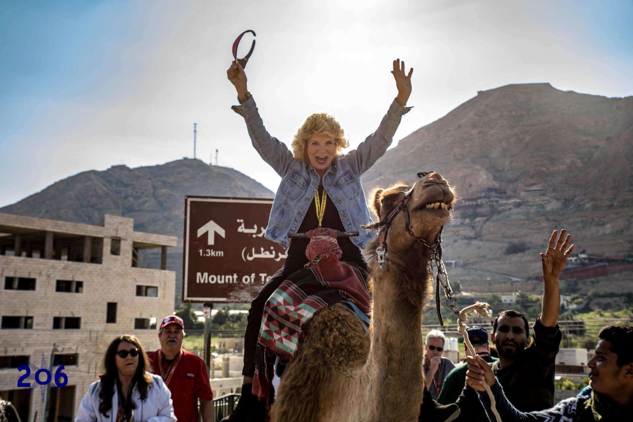 Camel Rides at Mt. of Temptation!