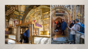 Calvary Church of the Holy Sepulchre Tomb of Christ Holy Week Pilgrimage 206 Tours