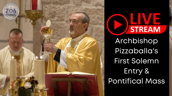 Archbishop Pizzaballa's first Solemn Entry & Pontifical Mass