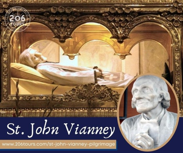 Blessed Feast of Saint John Vianney! Learn more about the Cure of Ars, France and this great Saint here: www.206tours.com/st-john-vianney-pilgrimage  St. John Vianney, Pray for Us!