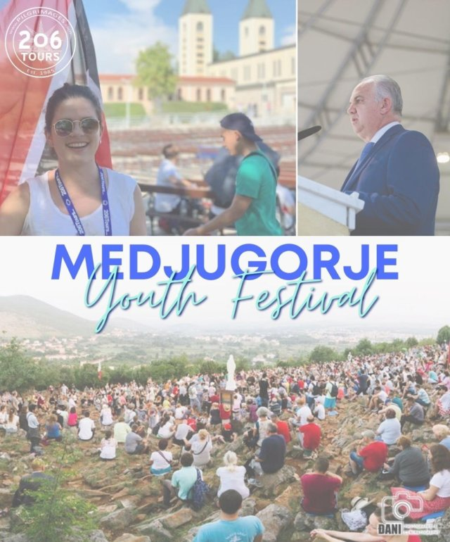 Today begins Medjugorje Youth Festival 2020. While saddened our pilgrims are not able to participate in person this year, we send our prayers to all participating in Medjugorje, and we thank God for technology which will allow us to watch online and stay connected in prayer.  Our Lady of Medjugorje, Pray for Us!  #Medjugorje #MedjugorjeYouthFestival #MedjugorjeYouthFest