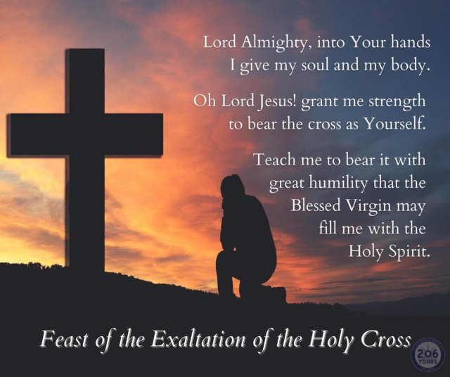 Blessed Feast of the Holy Cross!