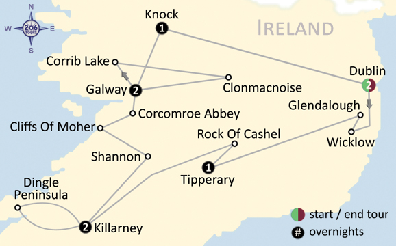 Map Of Ireland Knock.Pilgrimage To The Holy Land Egypt Map