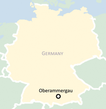 Oberammergau Germany Map.Oberammergau Passion Play Information 206 Tours Catholic