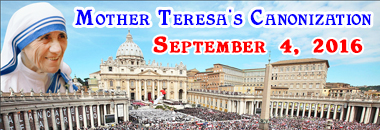 mother teresa canonization pilgrimage