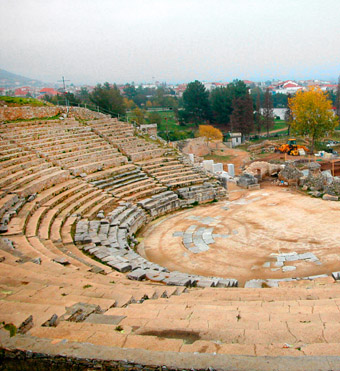 Theater, Philippi, Greece