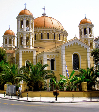 Saint Gregory Palamas Church Thessaloniki, Greece